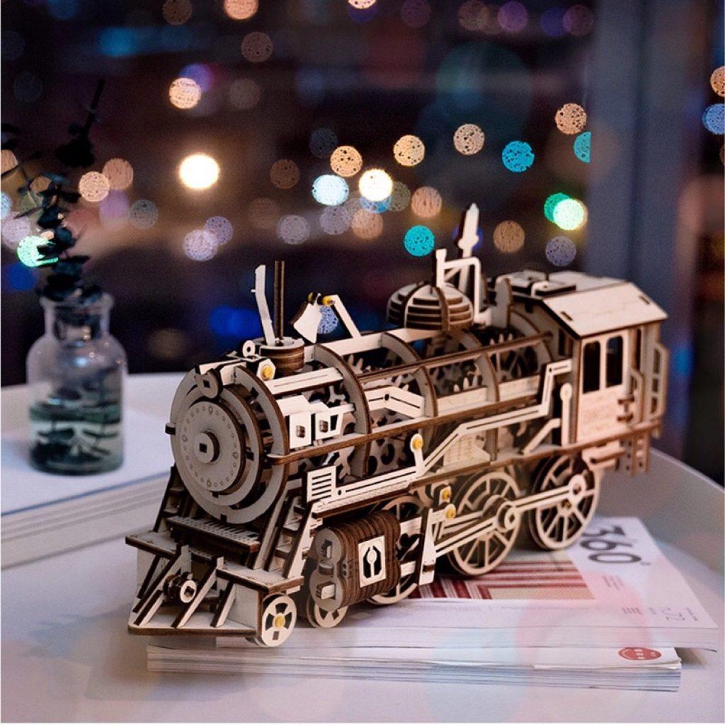ROKR Locomotive 3D Puzzle 2