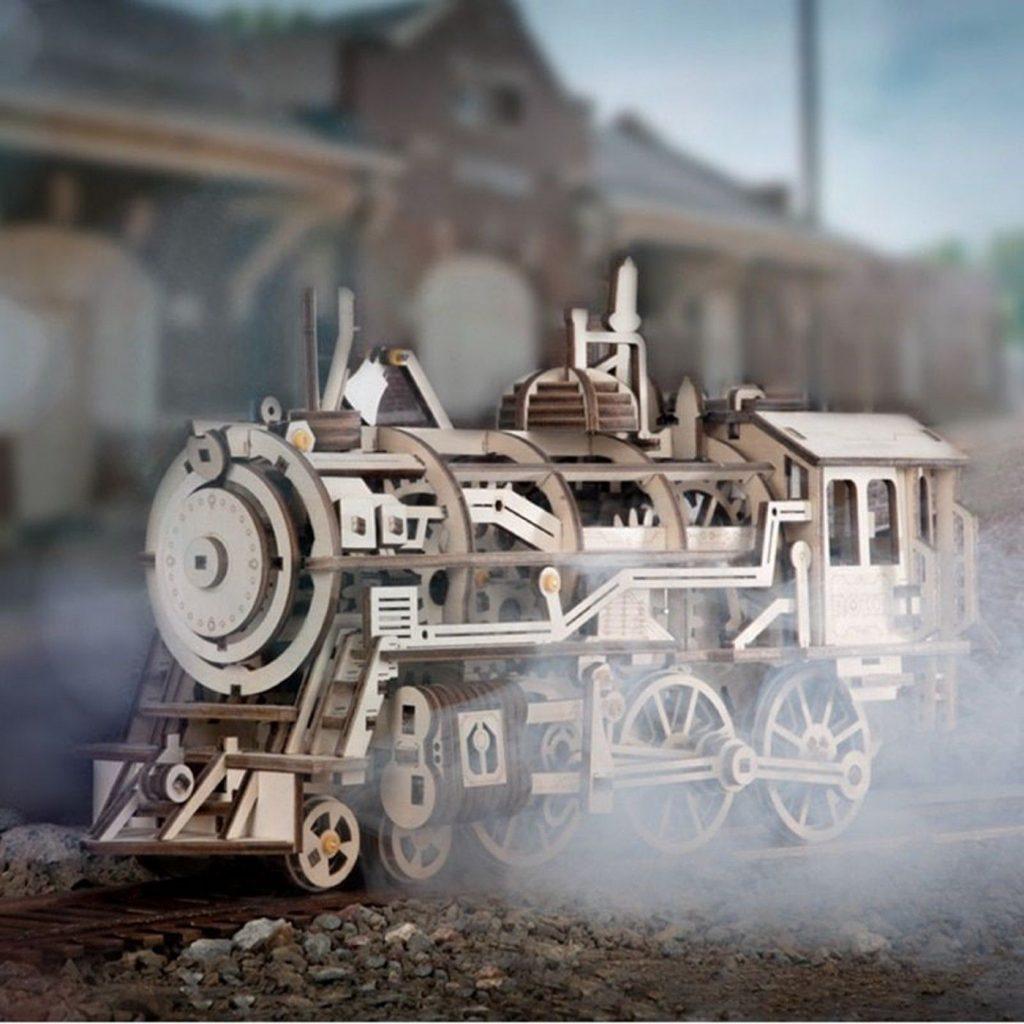 ROKR Locomotive 3D Puzzle 1