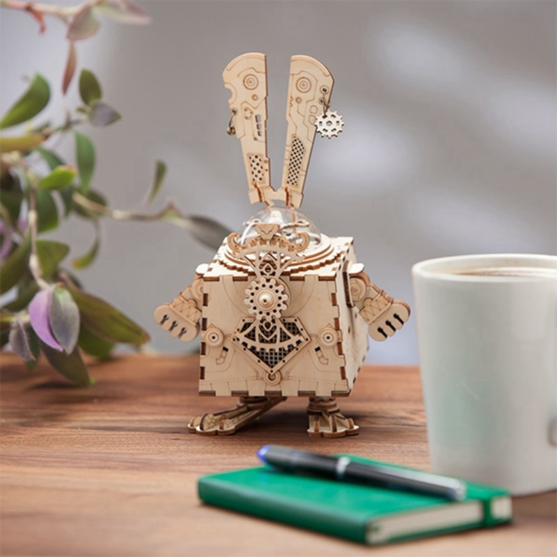 ROKR Bunny Steampunk 3D Puzzle 2
