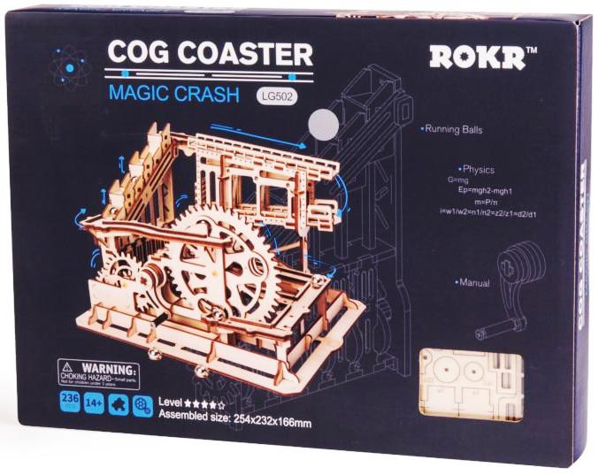 ROKR Marble Run Cog Coaster 3D puzzle 3