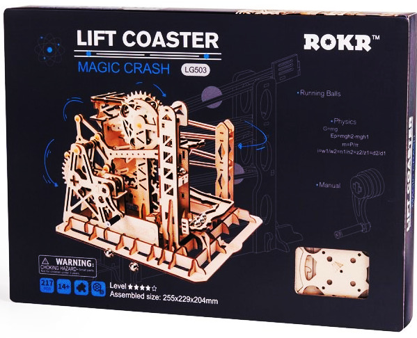 ROKR Marble Run Lift Coaster 3D Puzzle 3