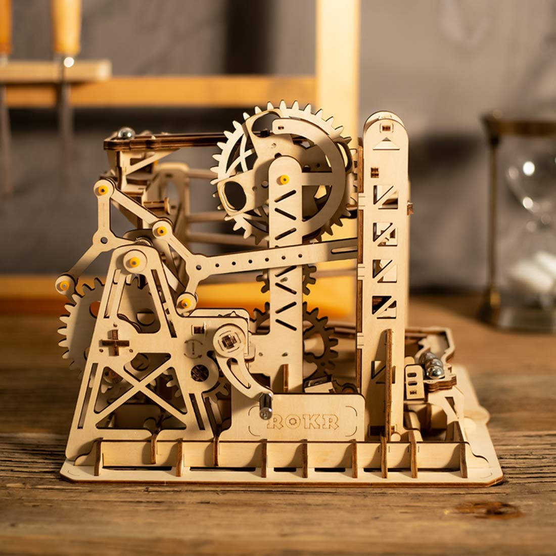 ROKR Marble Run Lift Coaster 3D Puzzle 2
