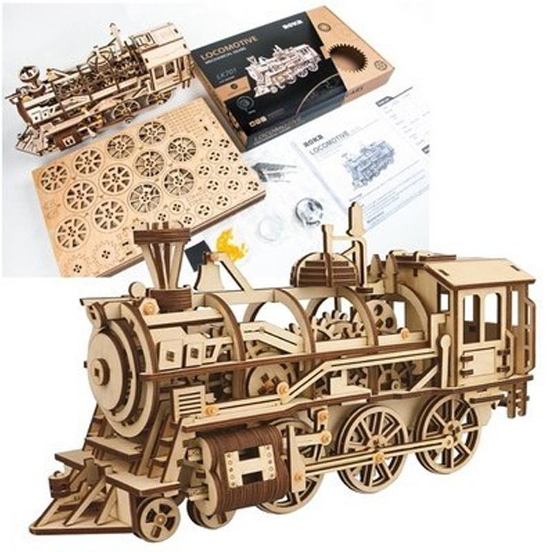 ROKR Locomotive 3D Puzzle 3