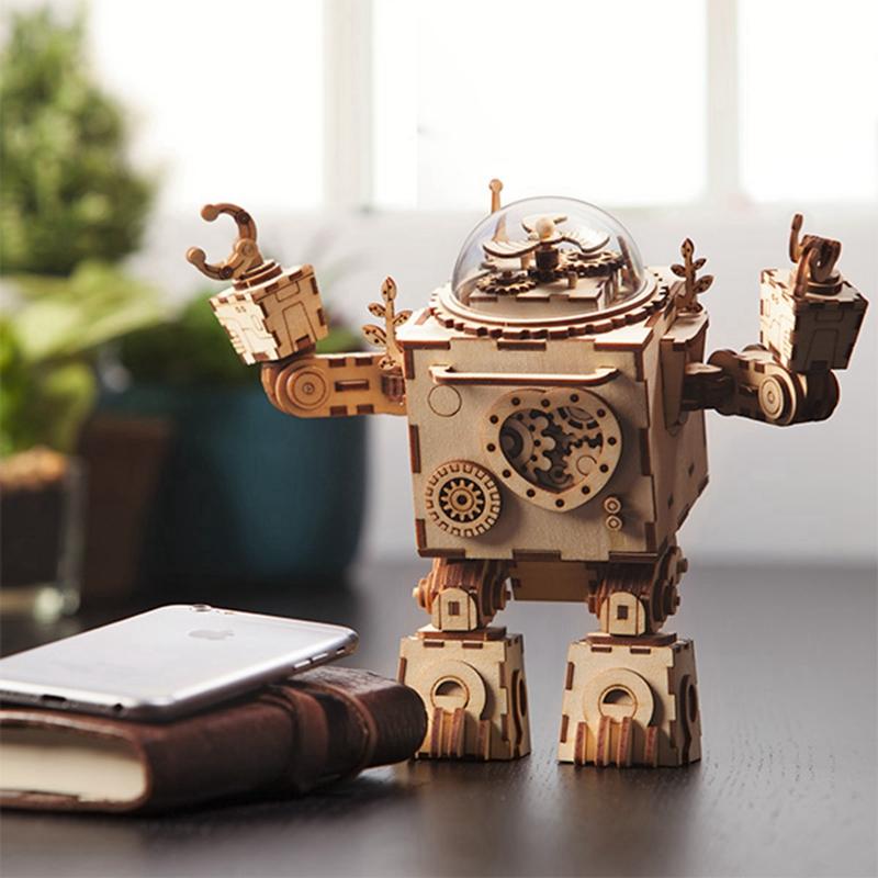 ROKR Steampunk Robot 3D Puzzle 1