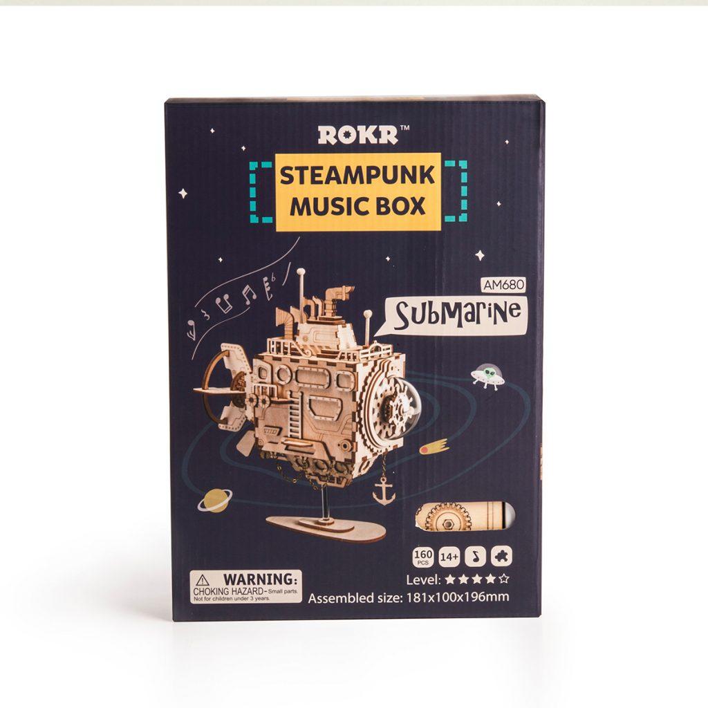 ROKR Submarine Steampunk 3D Puzzle 3