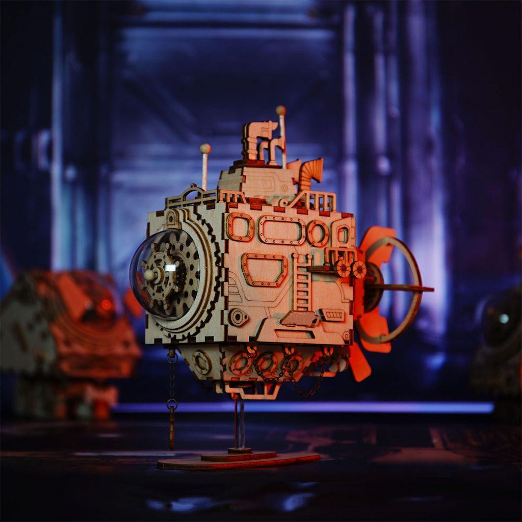 ROKR Submarine Steampunk 3D Puzzle 1