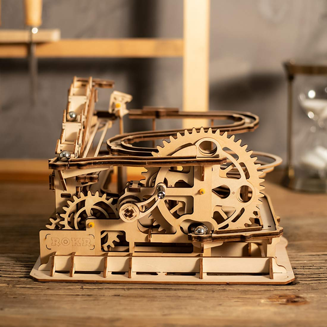 ROKR Marble Run Waterwheel Coaster 3D Puzzle 2