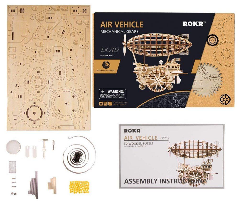 ROKR Air Vehicle 3D Puzzle 3