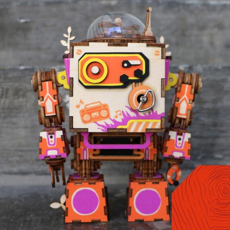 ROKR Romantic Robot 3D Puzzle (Limited Edition) 1