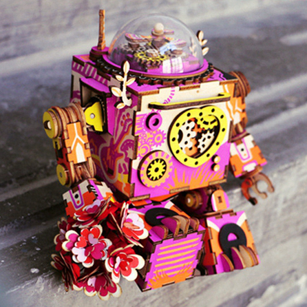 ROKR Romantic Robot 3D Puzzle (Limited Edition) 2