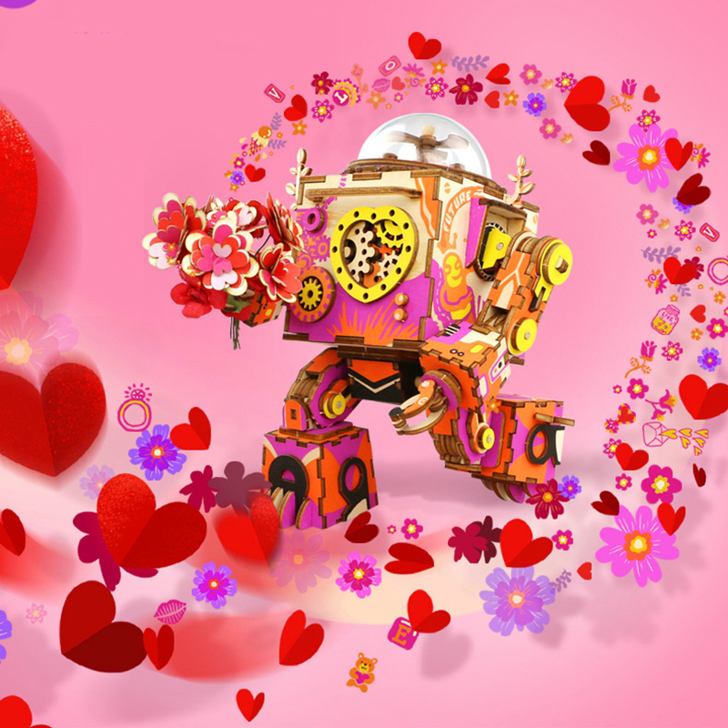ROKR Romantic Robot 3D Puzzle (Limited Edition) 3