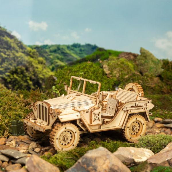 ROKR Army Jeep MC701 1
