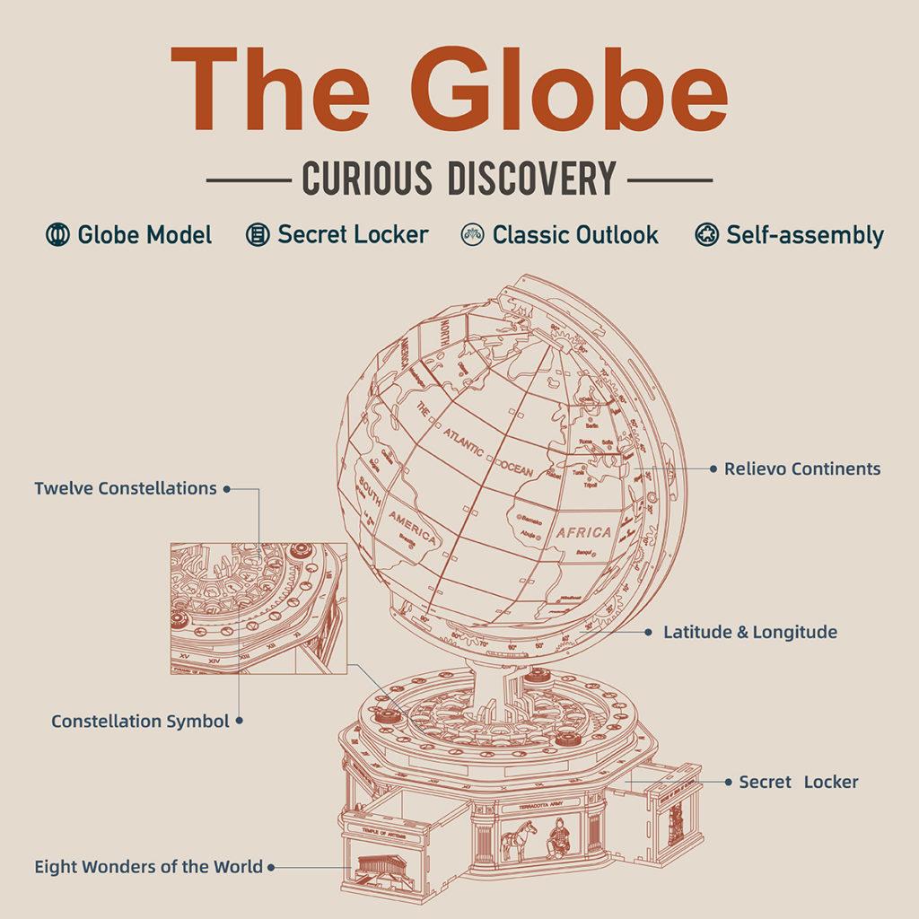 ROKR Globe 3
