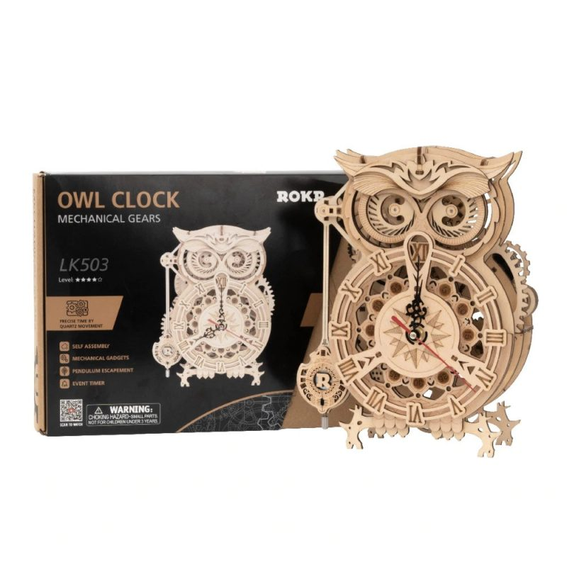 ROKR Owl CLock Portada 2