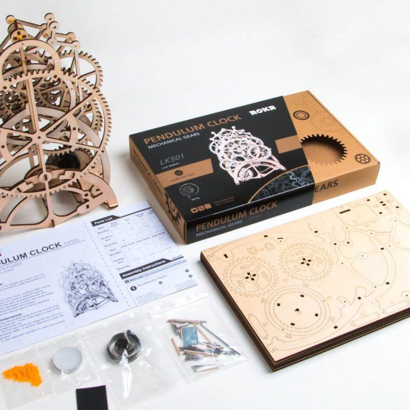 ROKR Pendulum Clock 3D Puzzle 3